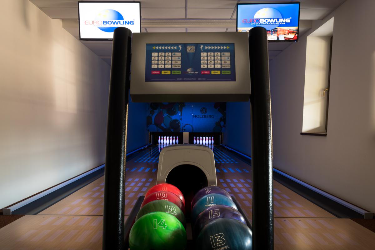 Wellness hotel Holzberg – bowlingová herna