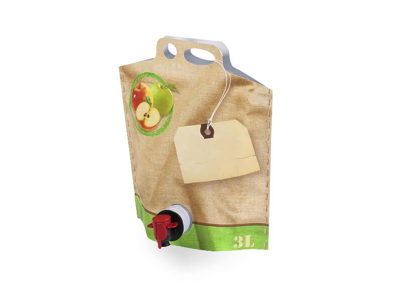 Vak typu Bag-in-box na mošt od firmy  Pack Shop Brno