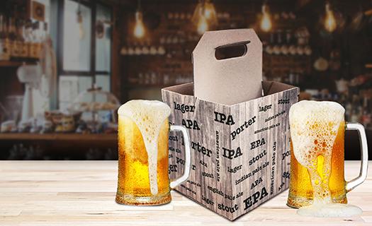 Stylové dárkové boxy na pivo