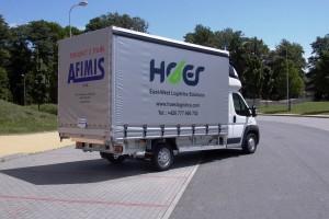 Plachtové skříňové nástavby na podvozky nákladních aut