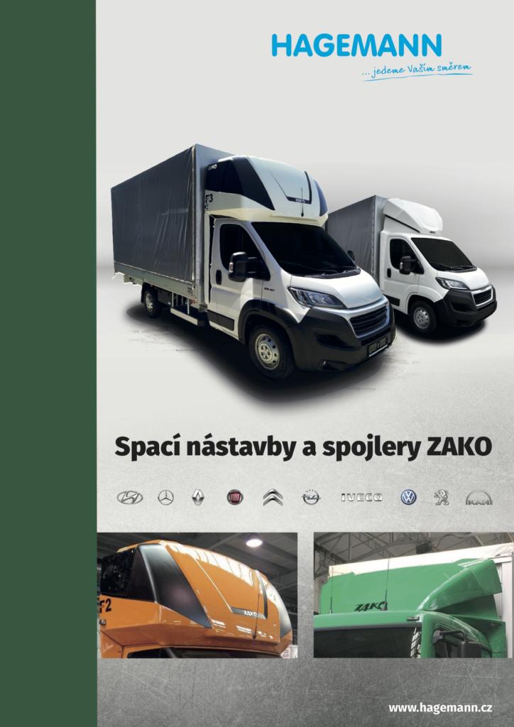 Prostorné a designové spací nástavby a spojlery ZAKO