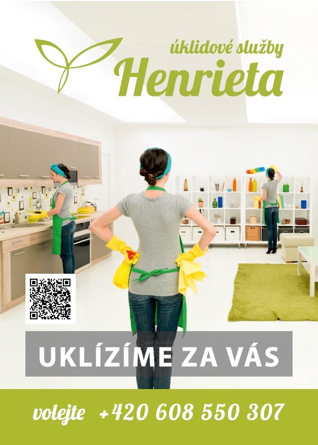 Spolehlivá úklidová služba Henrieta