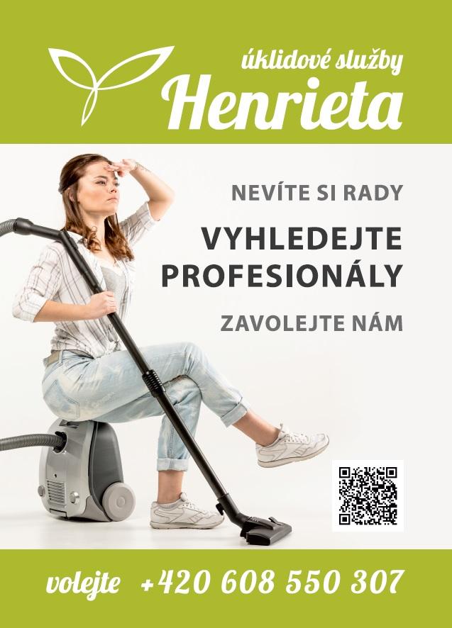 Úklidové služby Henrieta - profesionálové na čistotu