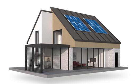 Fotovoltaické systémy pro rodinné domy
