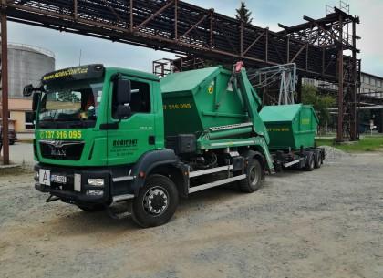 Kontejnerová autodoprava, přeprava materiálů