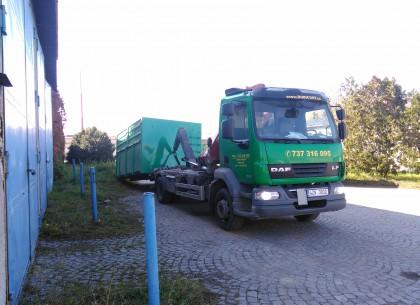 Pronájem kontejnerů - ROBICONT Kroměřížsko