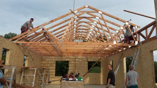 Dřevěné příhradové střešní vazníky s certifikátem kvality