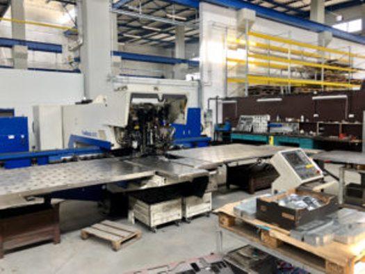 Zpracování plechu na CNC laserovém řezacím stroji