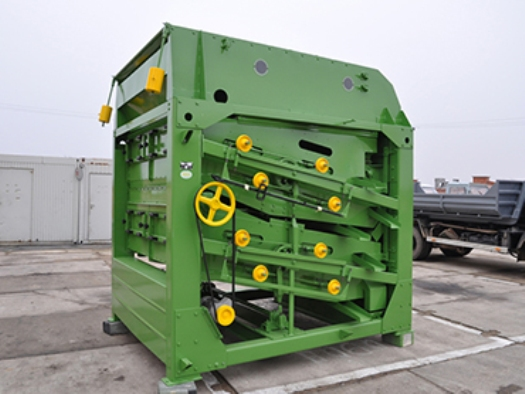 Zemědělské stroje na třídění a čištění obilí