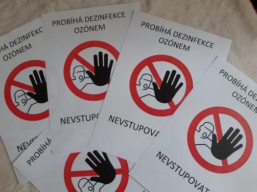 Dezinfekce ozónem k odstranění virů, koronaviru, plísní, bakterií