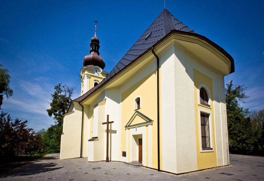 Smuteční rozloučení v kostele Ostrava Poruba