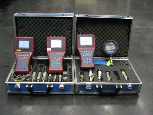 Meření tlaku ve zkušební laboratoři TLO, a.s. Opava