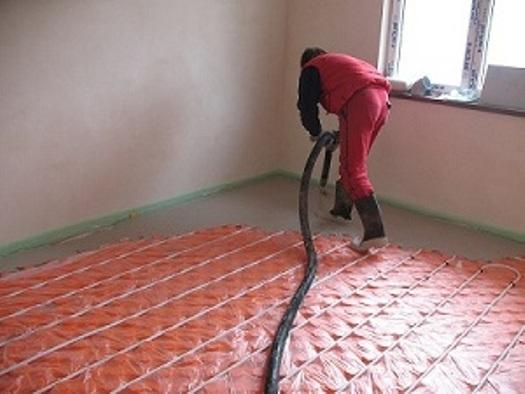 Samonivelační anhydritové lité podlahy - EB - stav s.r.o. Zlín
