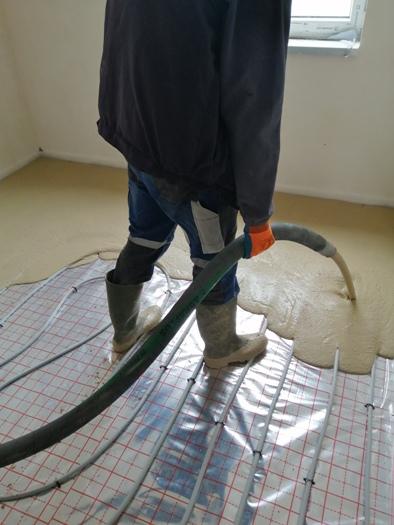 Anhydritové lité podlahy do bytů a rodinných domů