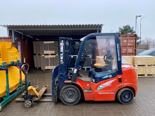 Překládkla zboží, logistické služby SPEDQUICK Třebíč