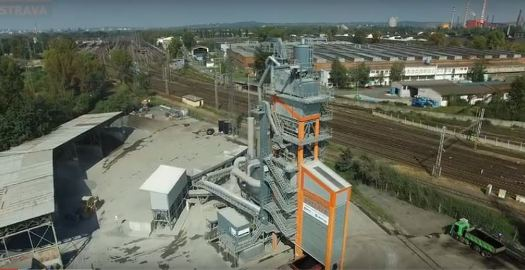 Výroba litého asfaltu - Obalovna Ostrava s.r.o.