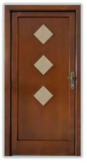 Vstupní vchodové dveře TESKO KOLOVRAT