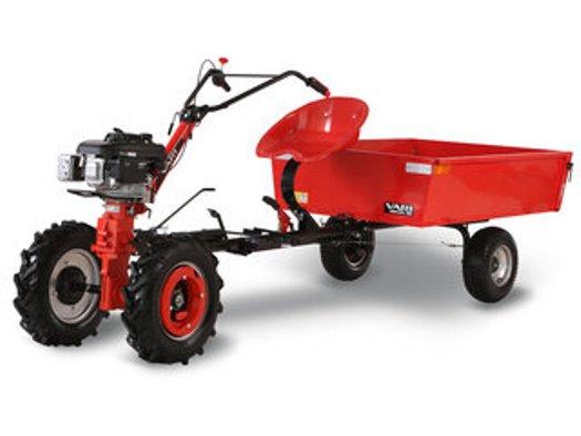 Malotraktor VARI - spolehlivá zahradní technika s příslušenstvím