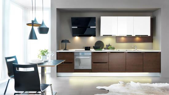 Kuchyňská linka v moderním provedení