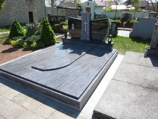 Kamenická výroba hrobek, pomníků, náhrobních desek