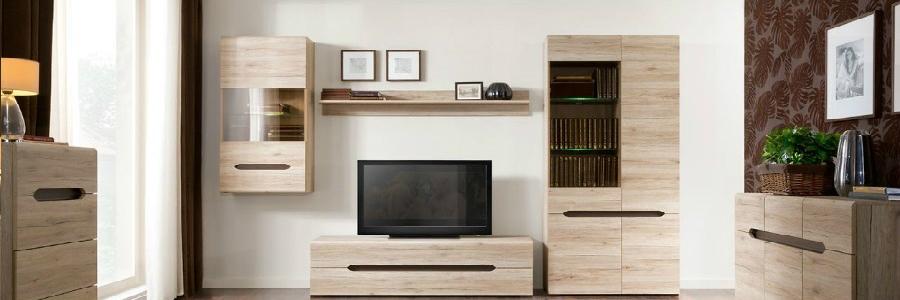 Nábytkové sestavy do obývacích pokojů dodává firma KAFKA & ŠUBA