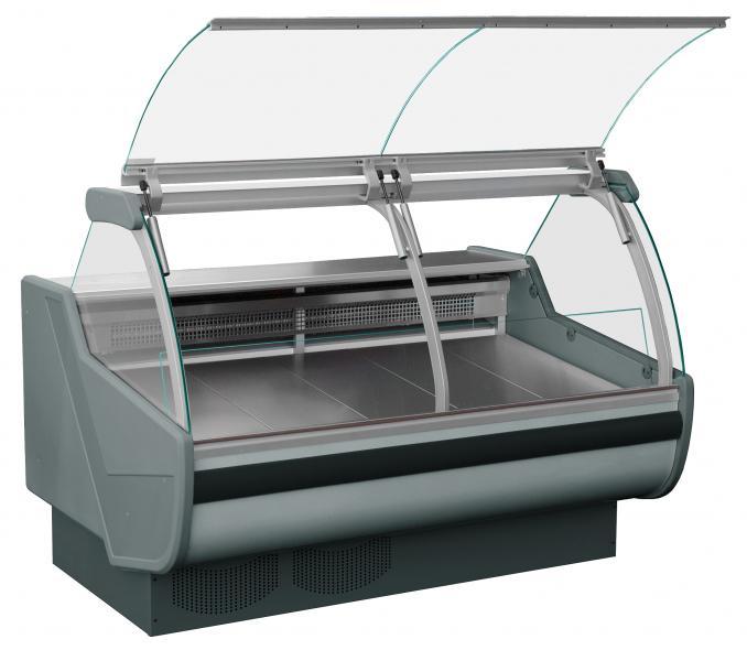 Chladicí i ohřevné vitríny pro gastronomické provozy