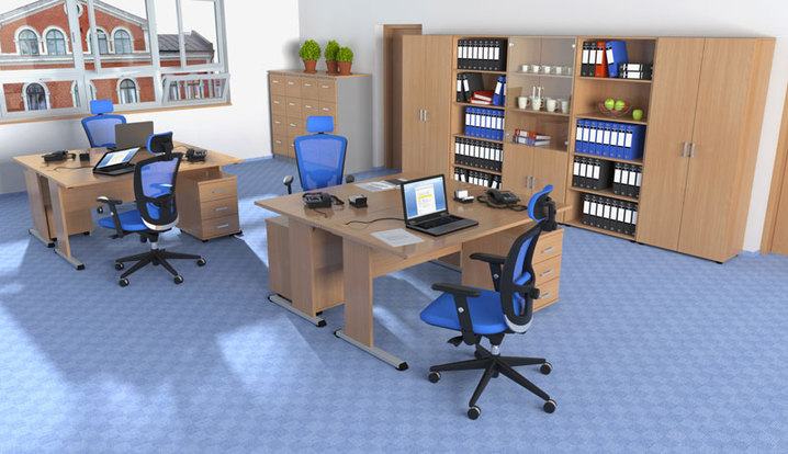 Vybavení kanceláře kvalitním českým nábytkem