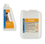 Kvalitní prostředky Dr. Schutz pro běžné čištění elastických podlahovin