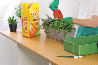 Substrát Seramis pro hydroponické rostliny