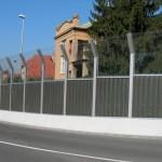 Protihlukové panely k silnicím, dálnicím, železnicím