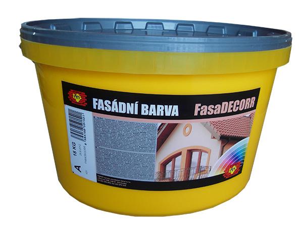 FASADecorr - acryl, fasádní disperzní barva