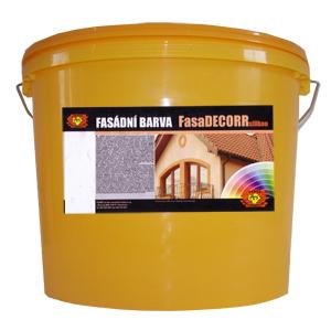 FASADecorr silikon, silikonová fasádní barva