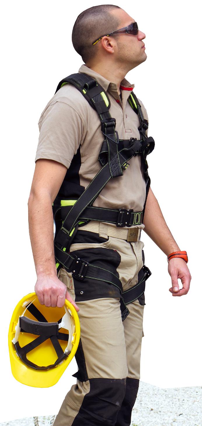 Ochranné prostředky pro práci ve výškách