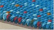 Praktický smyčkový koberec do dětských pokojů
