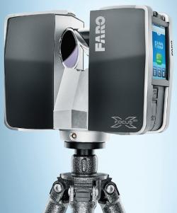 Přístroj, kterým společnost ADITIS s.r.o. provádí laserscanning
