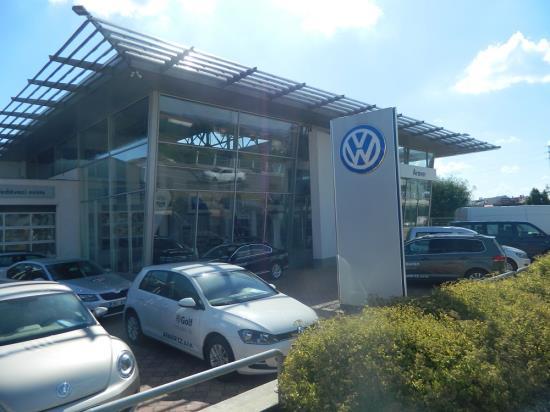 Prodej osobních automobilů značky Volkswagen - ARAVER CZ, s.r.o.