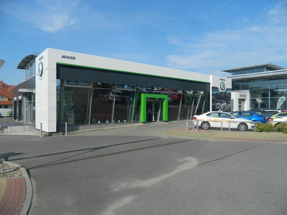 Autosalon ARAVER CZ, s.r.o. prodává nové vozy značky Škoda