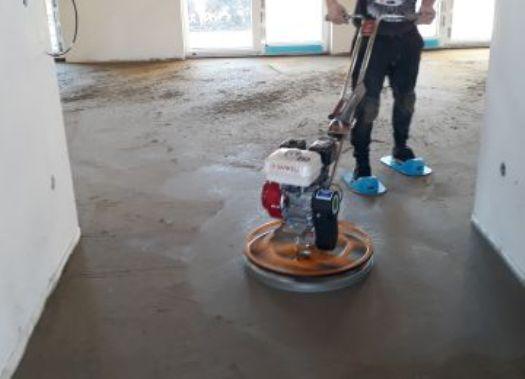 Betonové podlahy pro podlahové vytápění