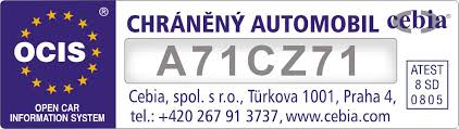 Ochranné značení autoskla Vašeho vozidla na počkání, Autoskla Vacek s.r.o., Brno
