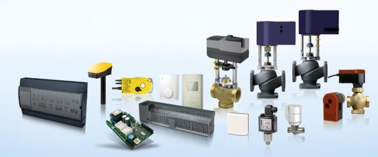 Produkty měřicí a regulační techniky Sauter pro OEM řešení