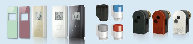 Produkty Sauter, měřicí a regulační technika