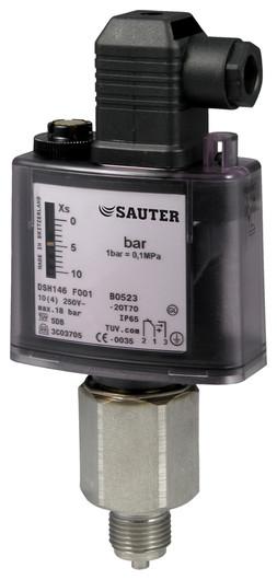 Omezovač tlaku Sauter pro OEM systémy
