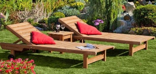 Dřevěný zahradní nábytek v e-shopu