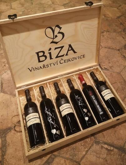 Nabídka kvalitních vín z Vinařství Petr Bíza