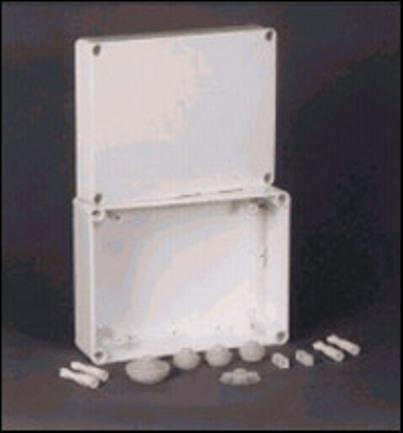Výroba plastových rozvodných skříněk pro elektromontáž