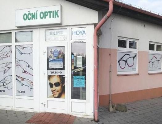Optika LUBRIMEX se sídlem v Krnově