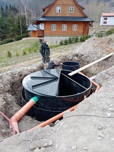 Dodání a montáž plastové čističky odpadních vod - Elventa LV, s.r.o.