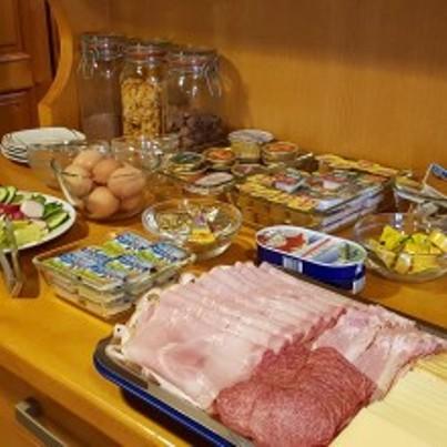 Bohaté snídaně v penzionu U Vlků Valtice