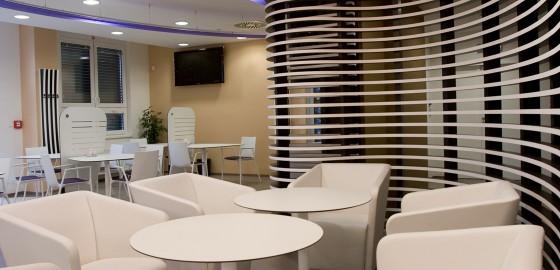 Hotelová restaurace AIR CLUB u letiště Václava Havla, Praha