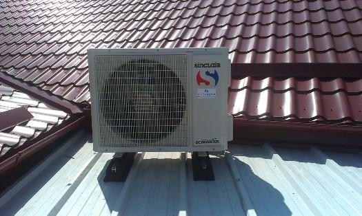 Klimatizační systémy Toshiba, Sinclair, Mitshubishi, Daikin